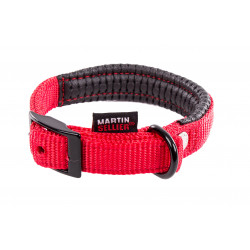 Collier confort 20mm-45 Rouge - MARTIN SELLIER