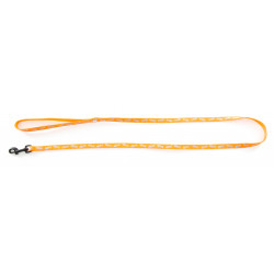 Laisse fluo fish 10mm-120 Orange - MARTIN SELLIER