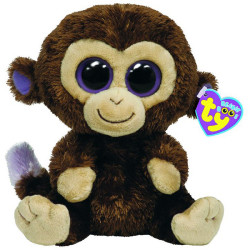 Peluche Beanie boo's S - Coconut le singe - TY