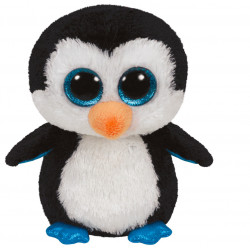 Peluche Beanie boo's S - Waddles le pingouin - TY