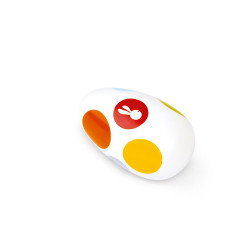 Oeuf maracas confetti - JANOD