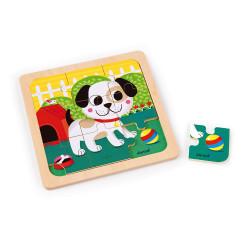 Puzzle chien Titus - JANOD