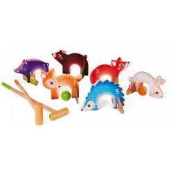 Croquet animaux de la foret - JANOD
