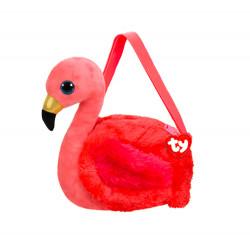 Sac à bandoulière - Gilda le flamant rose - TY