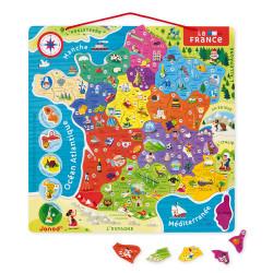 Puzzle France magnetique - JANOD