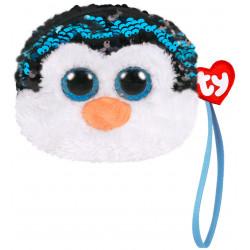 Porte monnaie sequins - Waddles le pingouin - TY