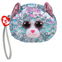 Porte monnaie sequins - Whimsy le chat - TY