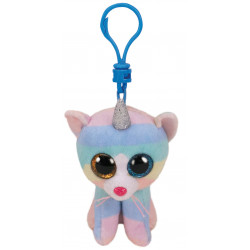 Beanie boo's clip - Heather le chat licorne - TY