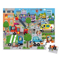 Puzzle city - 36 Pcs - JANOD