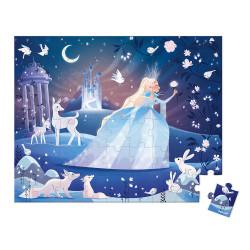 Puzzle féerie des glaces - 54 Pcs - JANOD