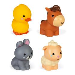 4 Gicleurs de bain - Les animaux de la ferme  - JANOD