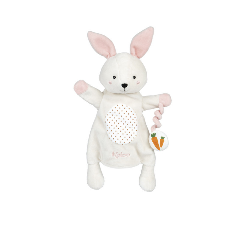 Kachoo - peluche marionnette lapin Robin - KALOO