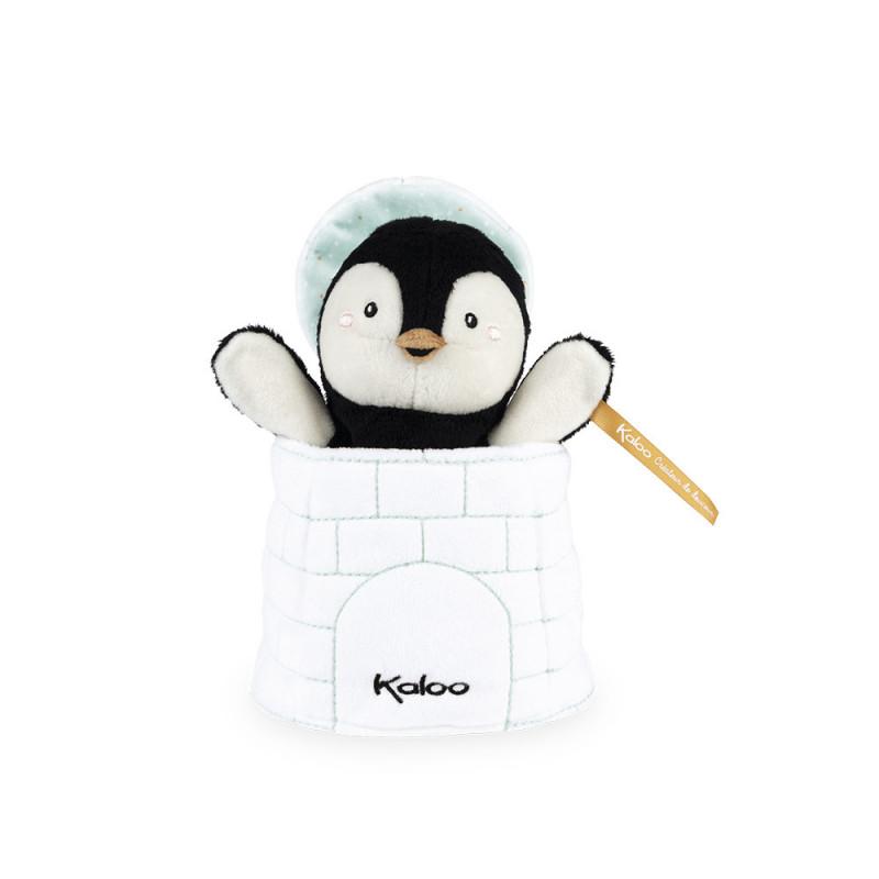 Kachoo - Marionnette cache-cache pingouin Gabin - KALOO
