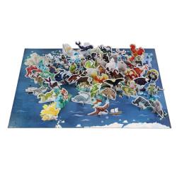 Puzzle éducatif - mythes et légendes - 350 Pcs - JANOD