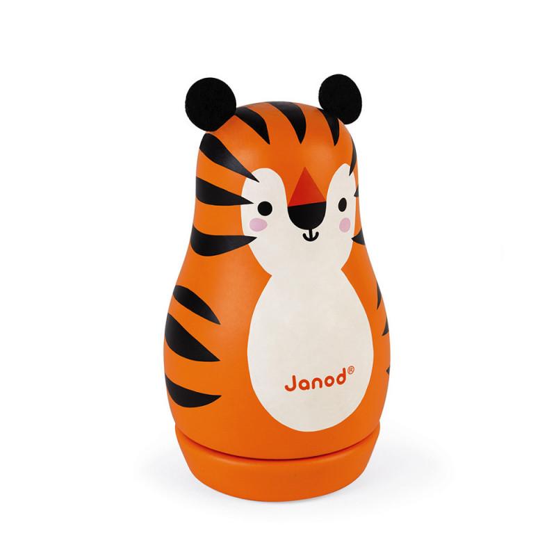 Boîte à musique - Tigre - JANOD