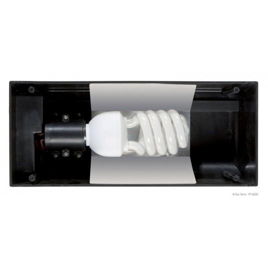 """Rampe d'éclairage fluorescent """"Compact Top"""" Exo Terra - 30x9x15cm"""