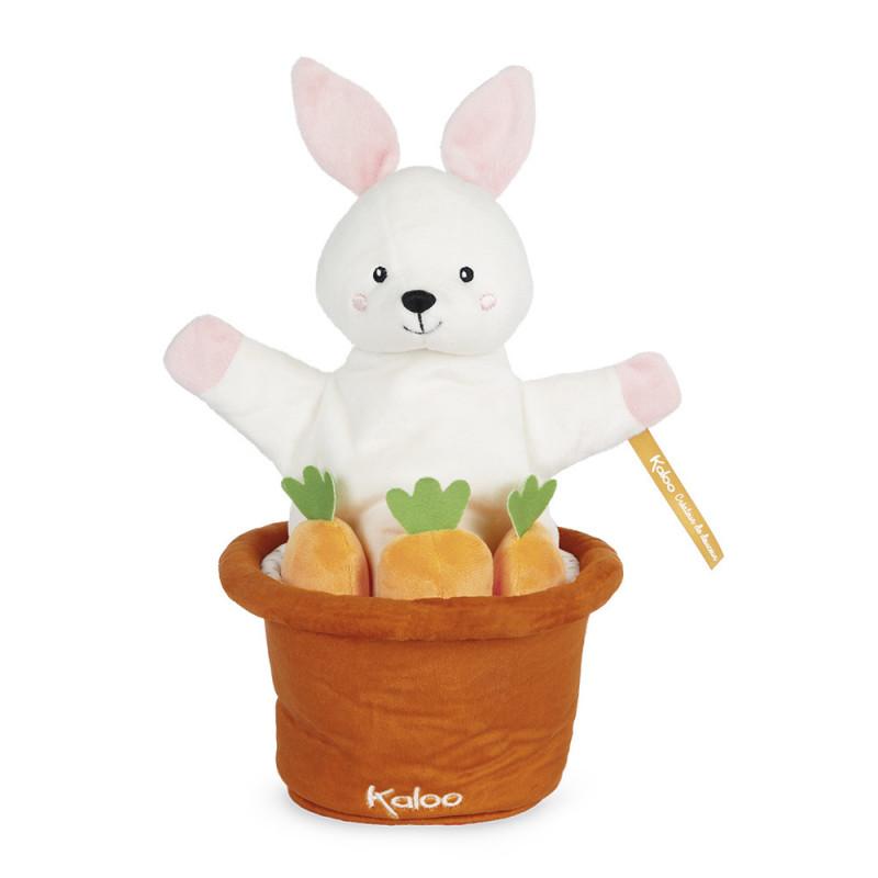 Kachoo - Marionnette cache-cache lapin Robin - KALOO