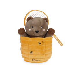 Kachoo - Marionnette cache-cache ours Ted  - KALOO
