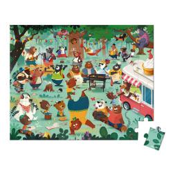 Puzzle la cousinade des ours - 54 Pcs - JANOD