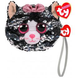 Porte monnaie sequins - Kiki le chat - TY