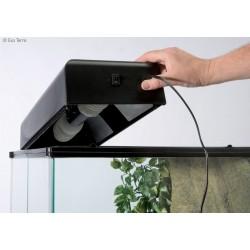 Rampe compacte d'éclairage fluo pour terrarium - Exo terra - 45x9x20cm