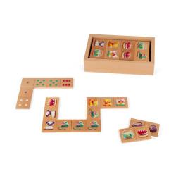 Jeu de dominos - Dominos 1ers mots - JANOD