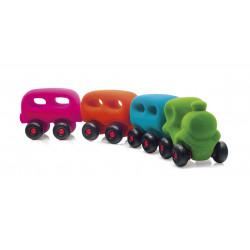Train avec 3 wagons magnétiques - RUBBABU