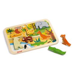 Chunky puzzle zoo - JANOD