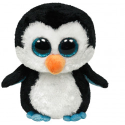 Peluche Beanie boo's M - Waddles le pingouin - TY