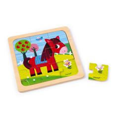 Puzzle cheval Tornado - JANOD