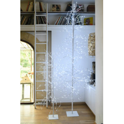 Arbre LED anime 3m blanc pur - BLACHERE