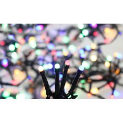 Guirlande FLICKER light LED opaque multicolore - BLACHERE