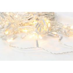 Rideau FLICKER light LED 2x2m blanc chaud - BLACHERE