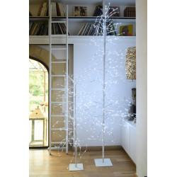 Arbre LED anime 1.8m blanc pur - BLACHERE