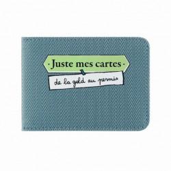 Porte-cartes DOUBLE Juste mec - DLP