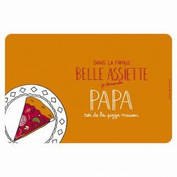 Set de table EMATCH Belle assiette Papa - DLP