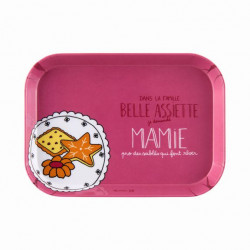 Plateau IOTA Famille belle assiette Mamie - DLP