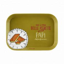 Plateau IOTA Famille belle assiette Papi - DLP