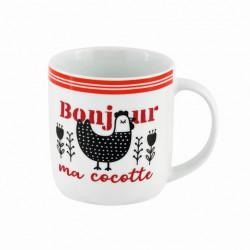 Mug LEMAN Bonjour ma cocotte - DLP