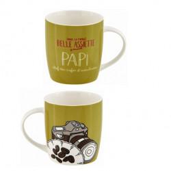 Mug LEMAN (+ boite) Belle assiette Papi - DLP