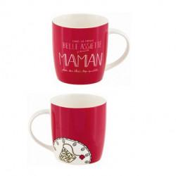Mug LEMAN (+ boite) Belle assiette Maman - DLP