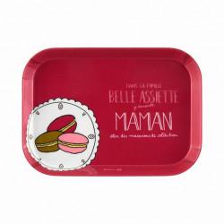 Plateau IOTA Famille belle assiette Maman - DLP