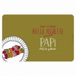 Set de table EMATCH Belle assiette Papi - DLP