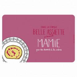 Set de table EMATCH Belle assiette Mamie - DLP