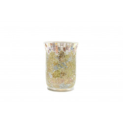 Abat-jour/plateau Gold & Pearl GM - YANKEE CANDLE