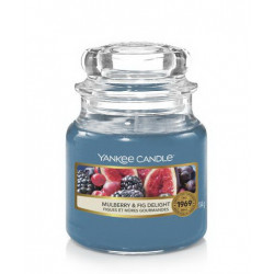 Bougie jarre PM Figues et mûres gourmandes - YANKEE CANDLE