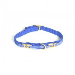 Collier pour chat nylon bleu 30cm