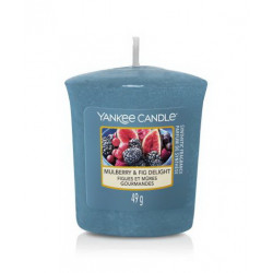 Bougie votive Figues et mures gourmandes - YANKEE CANDLE
