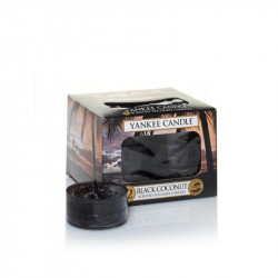 Bougie chauffe plats Noix de coco noire - YANKEE CANDLE