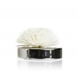 Diffuseur ceram fleur de Goatier 200ml silver - GOA